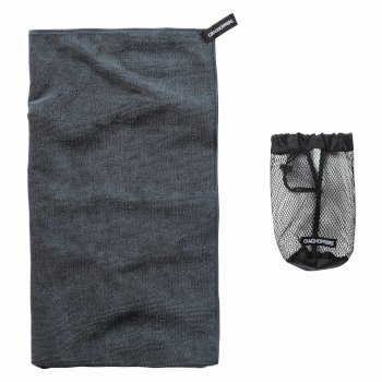 Craghoppers Large Microfibre Travel Towel - Grey