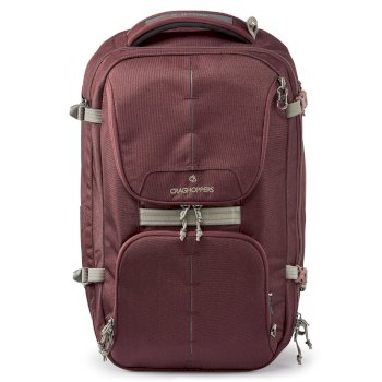 Craghoppers 40L Hybrd Holdall - Brick Red