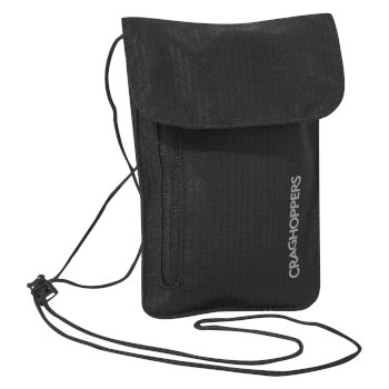 Craghoppers Neck Pouch - Black