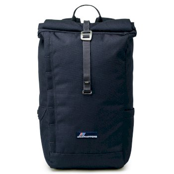 Craghoppers 20L Kiwi Classic Rolltop Backpack - Blue Navy