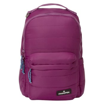 Craghoppers 10L Compresslite Backpack - Blackcurrant