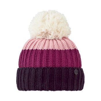 Craghoppers Kids Morgan Hat - Azalia Pink Stripe