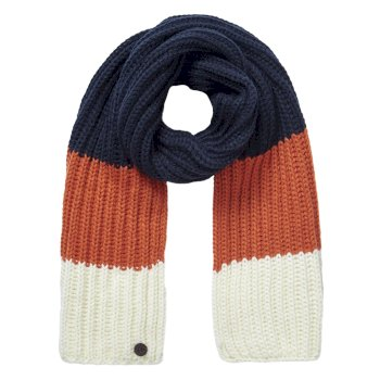 Craghoppers Kids Morgan Scarf Blue Navy Stripe