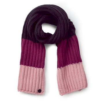 Craghoppers Kids Morgan Scarf Azalia Pink Stripe