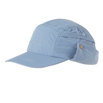 Craghoppers Kids Desert Hat - Ocean Blue