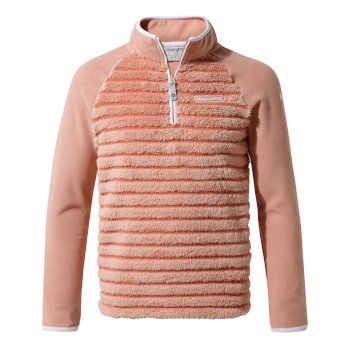 Craghoppers Maddiston Half-Zip Fleece - Rosette stripe