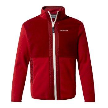 Craghoppers Alvese Jacket - Garnet Red / Firth Red