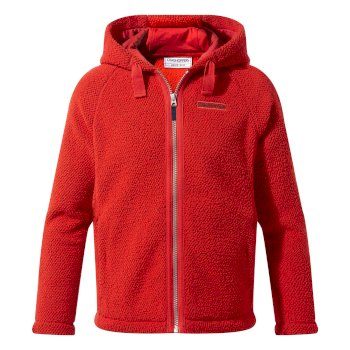 Craghoppers Boys Brizio Jacket - Aster Red
