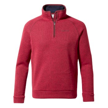 Fobello Half-Zip - Winter Rose Marl
