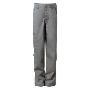 Craghoppers Kids Kiwi Pants Platinum