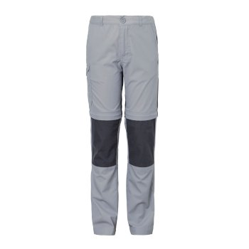 Craghoppers Kiwi Cargo Convertible Trousers - Cement