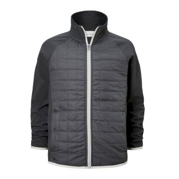 Craghoppers Boone Hybrid Jacket Black Pepper