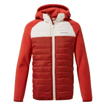 Craghoppers Avery Hybrid Jacket - Firth Red / Seasalt