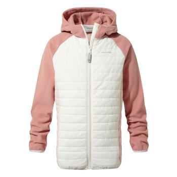 Craghoppers Neopolitan Hybrid Jacket - Seasalt / Seashell Pink