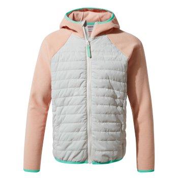 Craghoppers Eduardo Hybrid Jacket - Corsage Pink / Dove Grey
