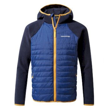 Craghoppers Eduardo Hybrid Jacket - Blue Navy / Lapis Blue
