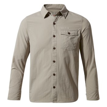 Craghoppers Nosilife Emerson Long Sleeved Shirt - Parchment