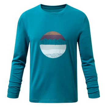 Craghoppers Erna Long-Sleeved Tee Forest Teal