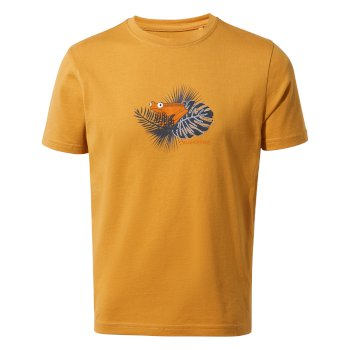 Craghoppers Rubens Short-Sleeved T-Shirt - Golden Yellow
