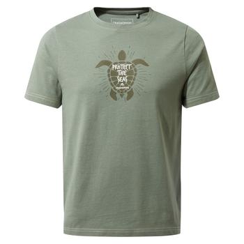Craghoppers Gibbon Short Sleeved T-Shirt - Sage Turtle