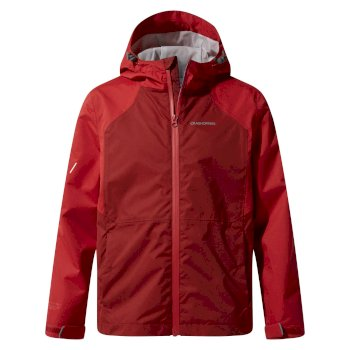 Craghoppers Amadore Jacket - Firth Red / Garnet Red