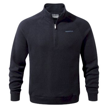 Craghoppers Norton Half-Zip Fleece - Dark Navy Marl