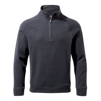 Craghoppers Norton Half-Zip Fleece - Ombre Blue Marl