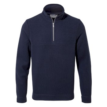 Craghoppers Taransay Half-Zip Fleece Blue Navy