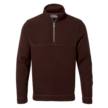 Craghoppers Taransay Half-Zip Fleece Dark Wine
