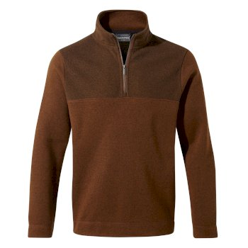Craghoppers Taransay Half-Zip - Ibex Brown