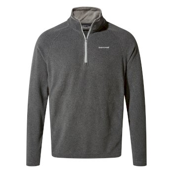 Craghoppers Corey V Half-Zip Fleece Black Pepper Marl