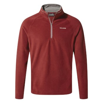 Craghoppers Corey V Half-Zip Fleece Firth Red / Platinum / Black