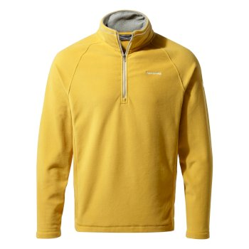 Craghoppers Corey V Half-Zip Fleece Soft Gold
