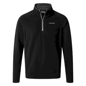 Craghoppers Corey V Half-Zip Fleece - Black