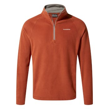 Craghoppers Corey V Half-Zip Fleece Burnt Whisky