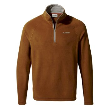 Craghoppers Corey V Half-Zip - Ibex Brown