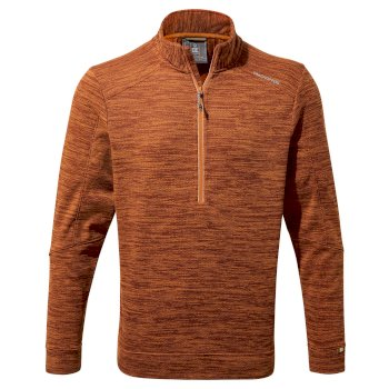 Craghoppers Strata Half-Zip Fleece - Terracotta