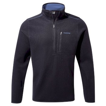 Craghoppers Etna Half-Zip Fleece - Dark Navy Marl