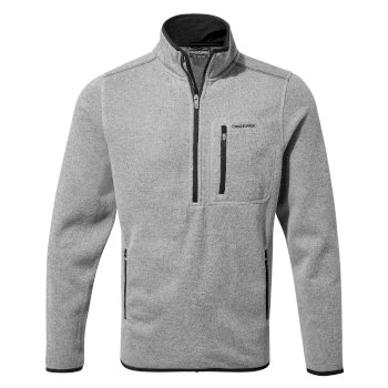 Craghoppers Etna Half Zip - Soft Grey Marl