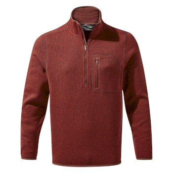 Craghoppers Etna Half Zip - Garnet Red