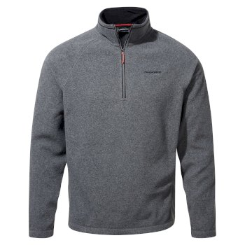 Craghoppers Corey VI Half Zip - Black Pepper Marl