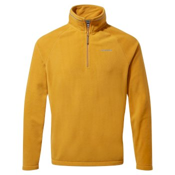 Craghoppers Corey VI Half Zip - Dark Butterscotch