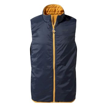 Craghoppers CompLite Vest II Blue Navy/Soft Gold