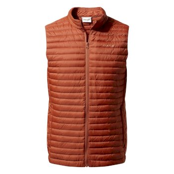 Craghoppers Venta Lite Vest Burnt Whisky