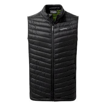 Craghoppers Expolite Vest - Black / Dark Agave Green