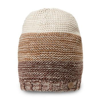 Craghoppers Rogan Knit Hat Burnt Umber Marl