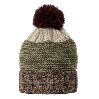Brenner Hat - Dark Wine / Woodland Green
