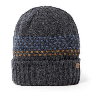 Ortier Hat - Dark Navy Marl / Deep Blue Marl