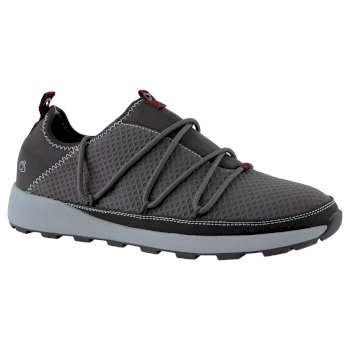 Craghoppers Locke Packaway Shoe - Black Pepper