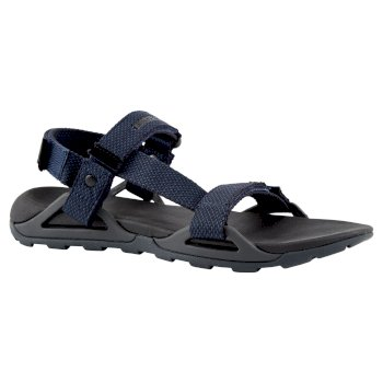 Craghoppers Locke Sandal - Black / Blue Navy